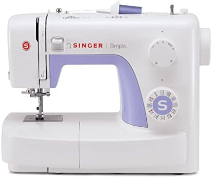Singer 3232 Simple - Sewing Machine with 32 Built-In Stitches including 19 Decorative Stitches, Automatic Needle Threader and Free Arm