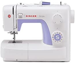 SINGER   Simple 3232 Sewing Machine with Built-In Needle Threader, & 110 Stitch Applications- Perfect for Beginners - Sewi...