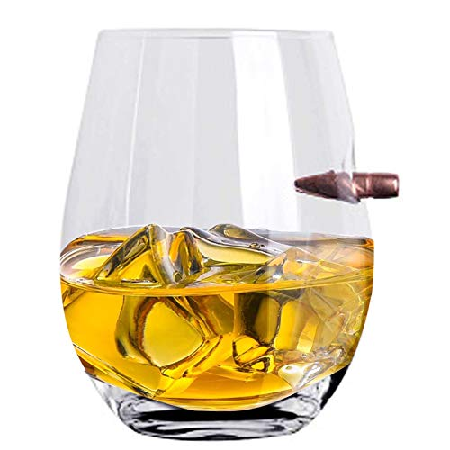 ZNEU Whisky y Vasos de Whisky,Sin Plomo Vasos de Cristal Whiskey - Vaso de Whisky con Grabado,Premium Transparente Drinking Cup,Regalo fara Los Amantes Del Whisky (#3)