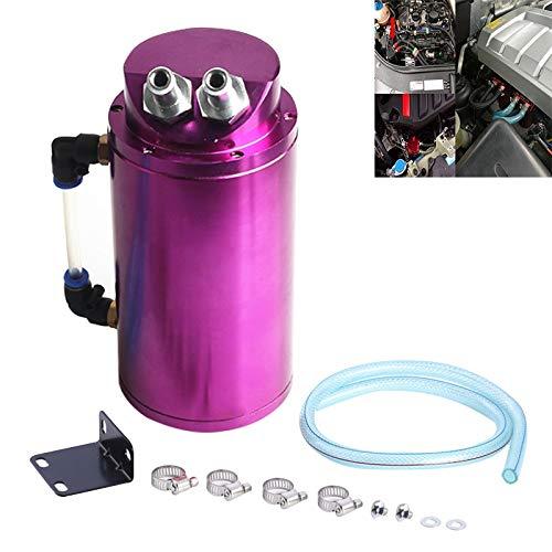 LLJDD Automotriz Troll Filtro de Aceite Potencia Potencia Limitada Pote Transpirable (Negro) (Color : Purple)