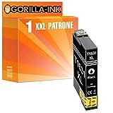 Gorilla-Ink 1 Patrone XXL kompatibel mit Epson T3471 34XL 34 XL Black | Geeignet für Workforce Pro WF-3720 DW WF-3725 DWF Series WF-3720DW WF-3720DWF WF-3725DWF
