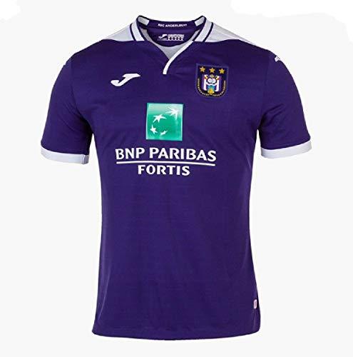 Joma 2019-2020 Anderlecht Home Football Soccer T-Shirt Trikot