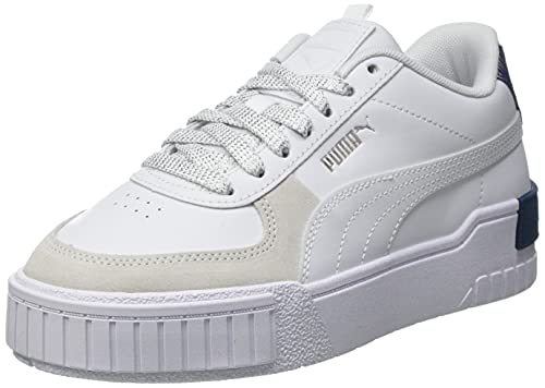 Puma CALI Sport Fireworks JR Sneaker, Weiß Elektro Blau, 37.5 EU
