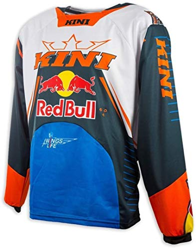 KINI Red Bull Jersey Competition Orange Gr. Large