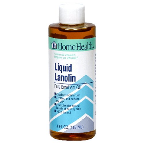 Home Health Liquid Lanolin, 4 Ounce