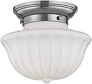 Hudson Valley Lighting 5009F-PN One Light Flush Mount from the Dutchess collection 9