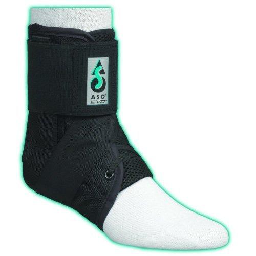 ASO EVO Ankle Stabilizer Brace (Large - White)