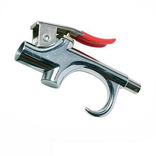 Silverline 456916 Pistolet à air comprimé 140 mm, Argent