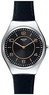 Reloj Swatch Skin Irony para Hombres 38mm, pulsera de Piel d