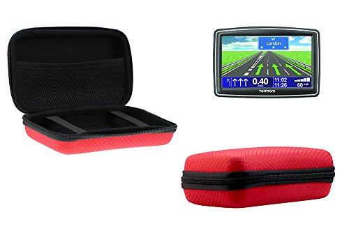 Navitech GPS rot Harter Fall für Garmin nüvi 65LMT / Garmin nüvi 66LMT / Garmin nüvi 67LMT / Garmin nüvi 2699LMT-D