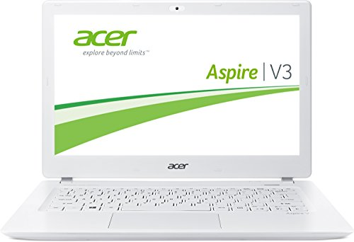 Acer Aspire V3-371-31K7 33,7 cm (13,3 Zoll HD) Laptop (Intel Core-i3 4158U, 2GHz, 4GB RAM, 500GB SSHD, Intel HD Iris 5100, Win 8.1) weiß