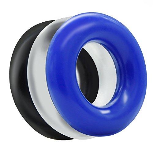 VF&QQP Soft Cǒ/ck Ƥɇ-ǹi/s Rings Sleeve Ring for Men Waterproof