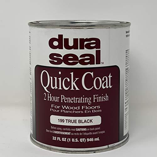 Dura Seal Quick Coat Penetrating Finish - True Black - Quart