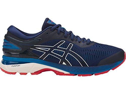 ASICS Men's Gel-Kayano 25 Running Shoes, 10M, Indigo Blue/Cream