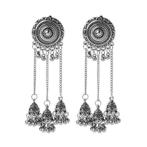 BELTI Indian Bollywood Bridal Traditional Jhumka Jhumki Drop Earrings Women Jewelry