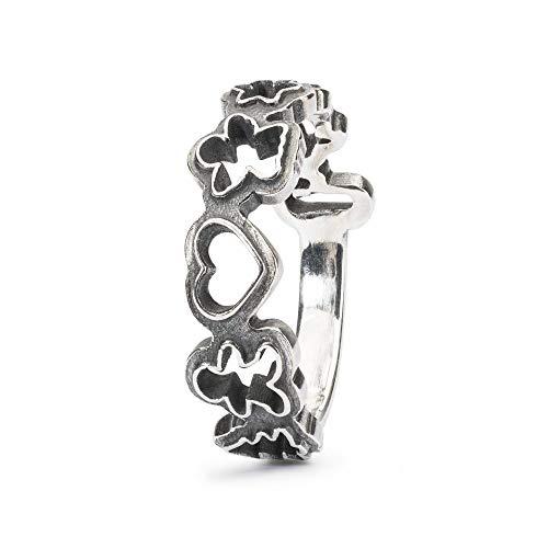 Trollbeads Damen-Ring Süßigkeiten Formen aus 925er Silber Gr.