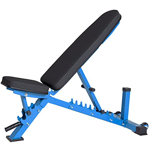 Rep Adjustable Bench, AB-3100 V3 – 1,000 lb Rated (Blue)