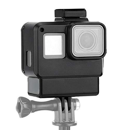 Voluxe Carcasa de la cámara, funda de protección para GoPro, negro de seguridad para GoPro Hero 7 Cámara GoPro Hero 5 GoPro Hero 6