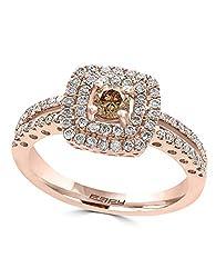 14K ROSE GOLD DIAMOND,ESPRESSO DIAMOND, RING WP0L553D56
