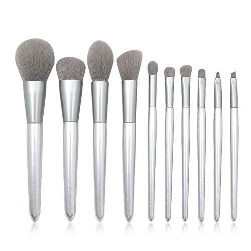 MEISINI Outil multifonctionnel de lèvre de fard à paupières liquide de fond de brosse de maquillage de base de poignée en bois liquide, un