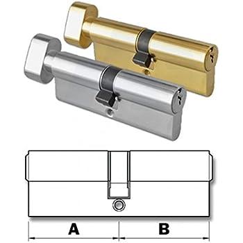 c//w 10 keys per lock Thumb turn Euro Cylinder