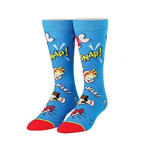 COOL SOCKS Heren Snap Crackle Pop Granen Sokken Maat 6-13