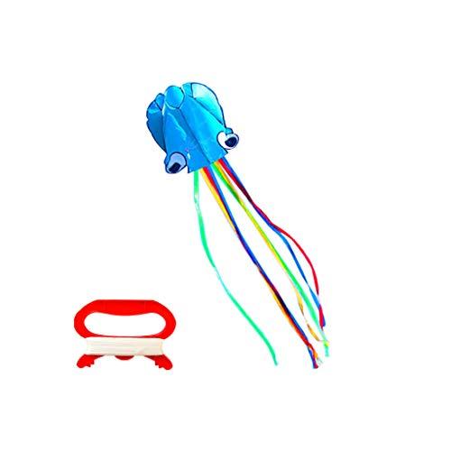 Groß Octopus Kite 157X31inch Einzelne Zeile Kinderdrachen mit langem Schwanz Bunt Stuntdrachen Fliegender Drachen Spiele und Aktivitäten im Freien Kinderspielzeuggeschenk