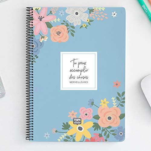 Cuaderno de espiral A4 – Tu puedo realizar cosas maravillosas
