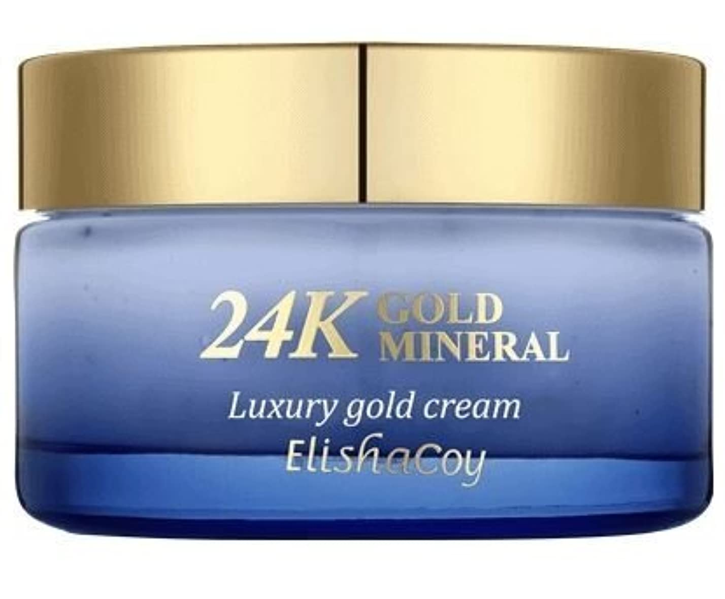 白内障くつろぎとげのある24Kゴールドミネラルクリーム(50g) Elishacoy エリシャコイ