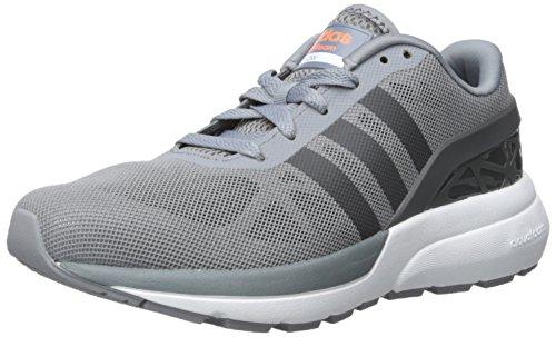 adidas NEO Men's Cloudfoam Flow Shoes,Grey/Dark Solid Grey,8.5 M US