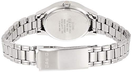 Casio LTP1128A1A LTP1128A-1A - Orologio da polso da donna colore argento