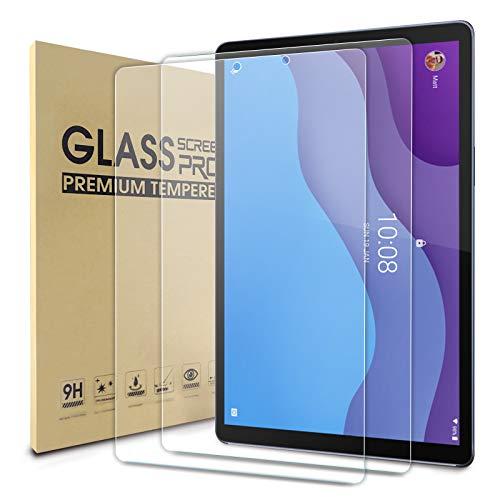 WD&CD 2 Piezas Protector de Pantalla Compatible para Lenovo Tab M10 HD Gen 2, 9H Dureza, Alta Definicion, Cristal Vidrio Templado Film Compatible con Lenovo Tab M10 HD Gen 2 10.1 Pulgadas