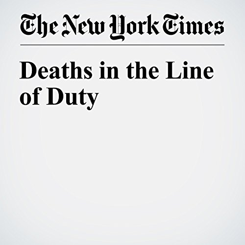 Deaths in the Line of Duty cover art
