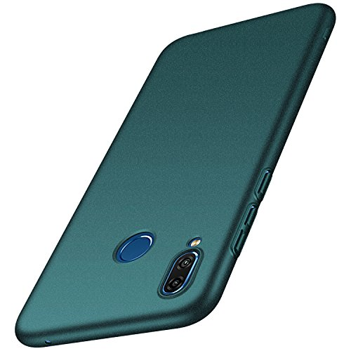 anccer Cover Huawei Honor Play [Serie Colorato] di Gomma Rigida Protezione Da Cadute e Urti Huawei Honor Play (Ghiaia verde)