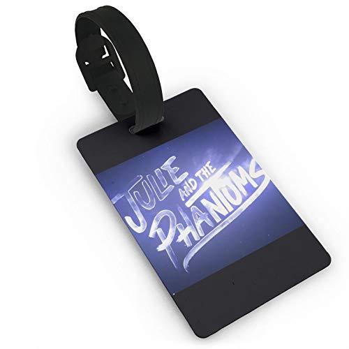 Julie-and-The-Phantoms - Etiquetas de equipaje para equipaje personalizadas, de cuero, etiquetas de identificación para equipaje, accesorios de viaje de PVC