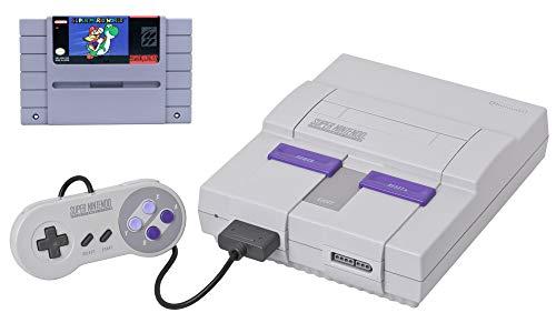 Super Nintendo SNES Bundle with Super Mario World (Renewed)