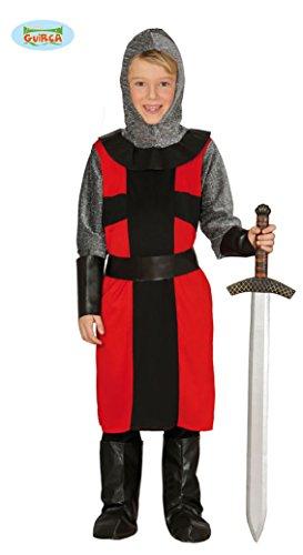 Guirca Ritter Kostüm für Kinder Gr. 98-146, Größe:110/116