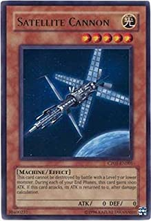 YuGiOh Champion Pack Series 1 Satellite Cannon CP01-EN001 Rare Ultra [Toy]