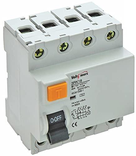 Voltimerc Interruptores Diferenciales 4P 40A 30mA