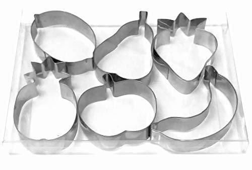Owoce truskawki gruszka jabłko ananas banan cytrynowy foremka do ciastek kremówka ciasteczka forma do pieczenia firmy LAWMAN