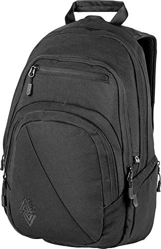 Nitro Stash Rucksack, Schulrucksack, Schoolbag, Daypack, True Black, 49 x 32 x 22 cm, 29 L,