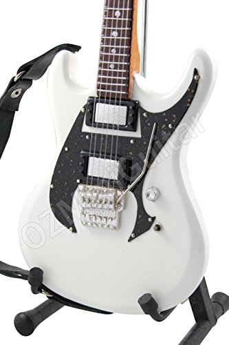 OZMiniGuitar Guitarra en Miniatura ESP RZK-1 Richard Z Kruspe Olympic White 2010