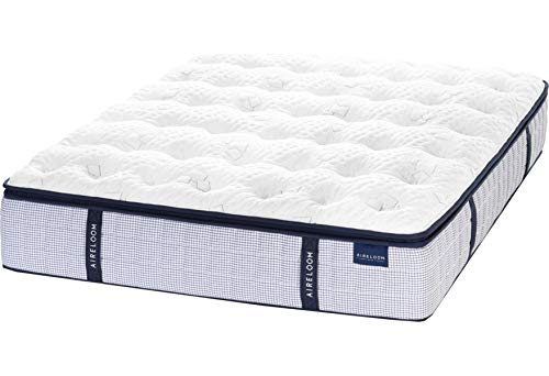 AIRELOOM TOP of The LINE!! Eureka LUXETOP Micro-Coil King Size PLUSH Pillow TOP