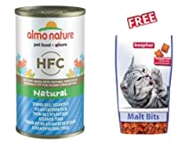 Almo Nature HFC 12 x 140g Atlantic Tuna Supplementary food for cats of all ages With fresh, high-quality ingredients: with 38% - 59% finest quality fresh meat and fish, as well as ham, cheese or vegetables, of human grade quality Natural: cooked and ...