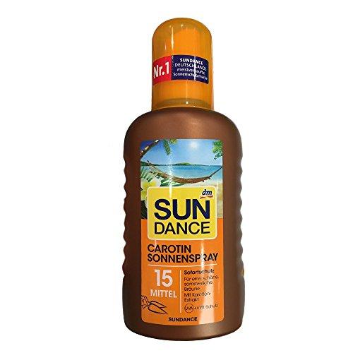 Sundance Carotin Sonnenspray LSF15 (200ml Flasche)
