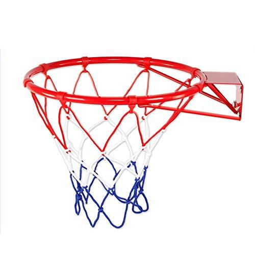 SONGYU-Basketball-Ständer Draussen Kind Basketballkorb Basketball-Korb Haushalt Korbring Schießstand An Der Wand Montiert Durchmesser 32cm Basketballkorb