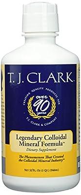 Original Colloidal Mineral Formula T.J. Clark 32fl.oz. Liquid