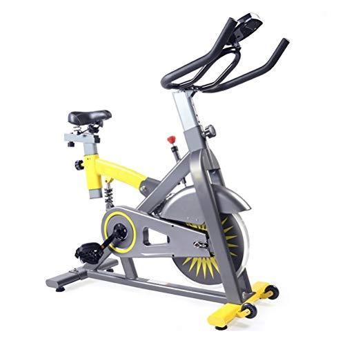 the teapot company Bicicleta de Ejercicio es silencioso con un Sistema de amortiguación Ajustable, la Bicicleta estática con Rodillos, Home Fitness aeróbico Bicicleta de Ejercicio