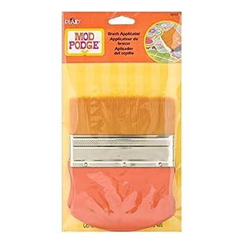 Mod Podge Gold Brush Applicator 4-Inch 12917 Taklon 1 Pack