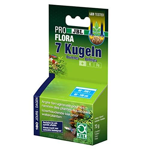 JBL 2011081 Les boulettes d'engrais alimentaire pour plantes aquatiques - 67 g (Modèle aléatoire) - Boîte de 7 Pieces